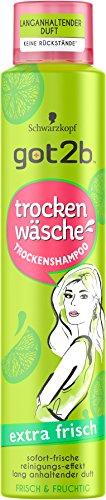Got2b Trockenshampoo extra frisch, 3er Pack (3 x 200 ml)