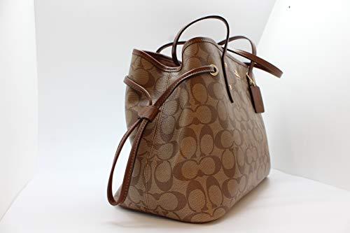 Fashion Shopping Coach Women's Hand shoulder bag F57842 Khaki /Brown