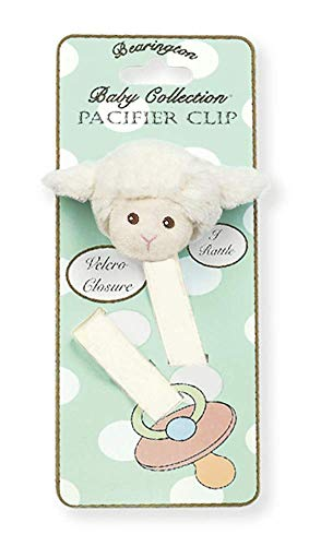 Lamby Pacifier Clip