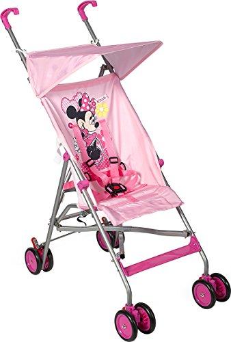 Lulabi Minnie Cochecito Ligero con paraguas, rosa