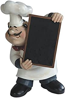 Best italian chef statue with chalkboard Reviews