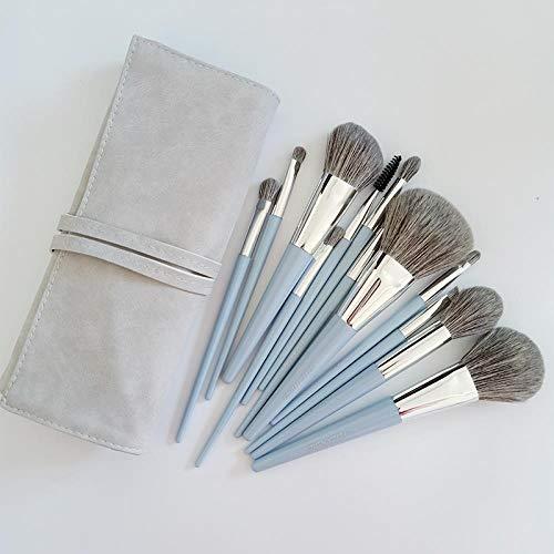 Pinceau De Maquillage Fibre De Maïs Brosse De Maquillage À Séchage Rapide Poudre Libre Blush Repair Brosse À Paupières , 12 B