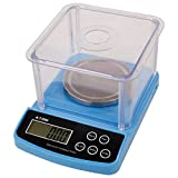High Precision Lab Scale Digital Analytical Electronic Balance Laboratory Lab Precision Scale Jewelry Scales Kitchen Precision Weighing Electronic Scales 0.01g Calibrated (600g)