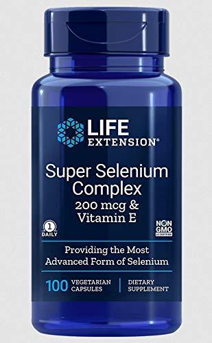Super selenio complesso 200 mcg & vitamina E (100 capsule vegetariane) - Life Extension