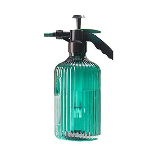 XIEYI Regadera Manual neumática regadera para jardín de estrés regaderas para Botella de Spray Manual Floral Herramientas de jardinería-Verde