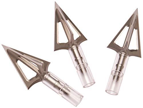 G5 Outdoors Montec 100% Steel Premium Crossbow Fixed Broadheads