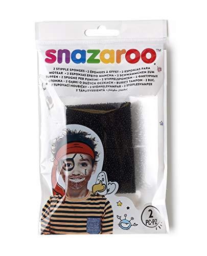 Snazaroo - Esponja de pintura facial para motear, set de 2