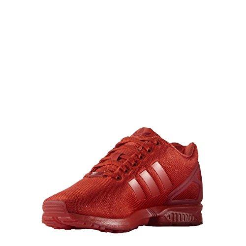 adidas Herren ZX Flux Running Shoe, red/red/red, 44 2/3 EU