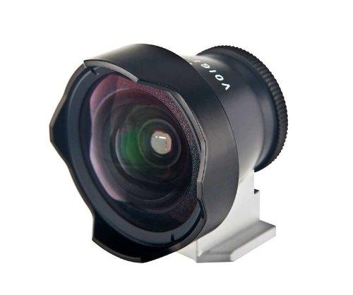 Voigtländer Bildsucher für Kameras, 12mm, Metall, Schwarz
