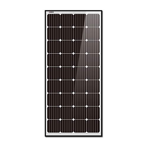 Litionite Rayo 180W : panneau solaire solide en verre trempé