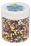 Hama- 3,000 Beads-Solid Mix Hama-3000 Cuentas (Mezcla, Multicolor, Talla única (10.209-00)