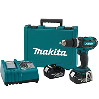 Makita BHP452 18-Volt LXT Lithium-Ion Cordless 1/2-Inch Hammer Driver-Drill Kit (Discontinued by Manufacturer) (B001K2YBBG) | Amazon price tracker / tracking, Amazon price history charts, Amazon price watches, Amazon price drop alerts