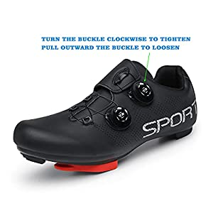 Bicycle Shoes for Men Cycling Shoes with Delta Cleats Mens Indoor Cycling Shoes Spd Shoes Size 12