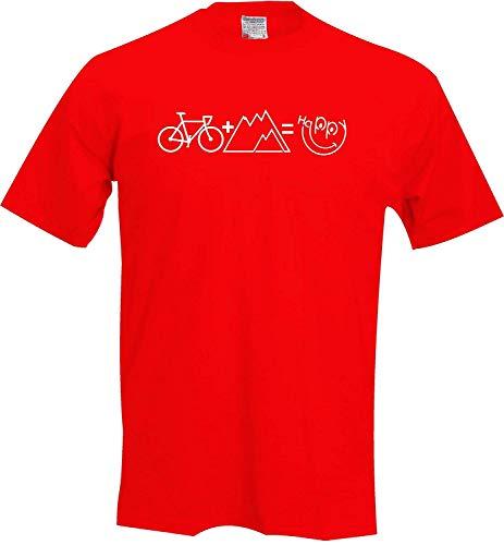Meisjes T-shirt Mountain fiets happy fiets fiets fiets fiets fiets racefiets tour
