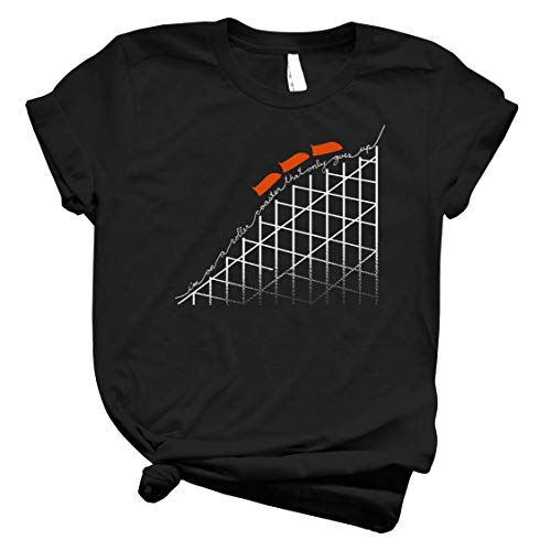 I M On A Roller Coaster That Only Goes Up - Orange Cars - 39 Men Shirts - Best Women T Shirt - Graphic