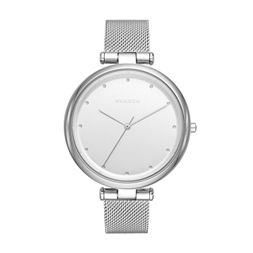 Skagen Damen Analog Quarz Uhr mit Edelstahl Armband SKW2485