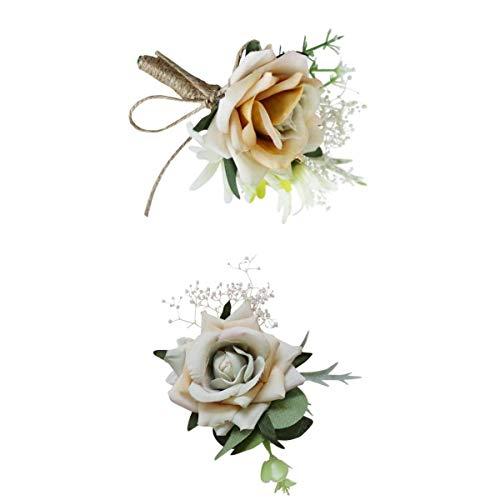 Nobranded Flor de La Mano de La Boda Floral Decoración de La Boda