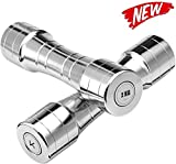 GSWF_OOEFC Pure Steel Small Dumbbell Men s Galvanoplastia con Mancuernas Fitness Equipment Home Gym Brazo Músculos Home Gym Fitness Brazo 4 kg * 2-2 kg * 2