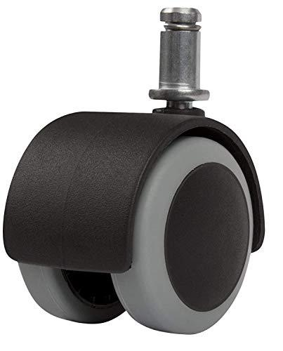 "zitriom Premium Office Chair Caster Wheel Universal Standard Size 11mm Stem Diameter X 22mm Stem Length (7/16"" X 7/8"")"