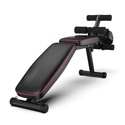 Banco de pesas para ejercicios de levantamiento Peso ajustable banco multifunción Banco de ejercicio Pesas heces máquina de fitness doméstico abdominal entrenador de gimnasia de los deportes Múltiple