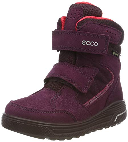 ECCO Mädchen URBAN Snowboarder Hohe Sneaker, Violett (Aubergine/Teaberry 51521), 35 EU