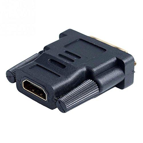 Onogal - 2305 Adaptador HDMI hembra a DVI (24+1) pines macho, dorado