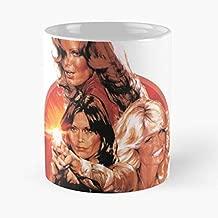Charlies Angels Farrah Fawcett - Morning Coffee Mug Ceramic Novelty Holiday 11 Oz