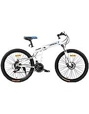 فتنس مينتس دراجة قابلة للطي، FM-F26-03S-WH