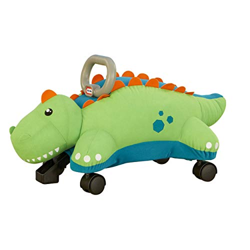 Little Tikes Dino Pillow Racer, Soft Plush Ride-On Toy for Kids Ages 1.5 Years and Up