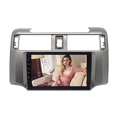 Amimilili Autoradio Radio De CocheAndroid 9.1 GPS Radio 2 DIN estéreo Multimedia para Toyota 4Runner 2009~2019 con GPS/Bluetooth/USB/FM/Mandos del Volante,4 Cores WiFi:2+32g