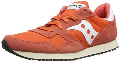 Saucony DXN Trainer Vintage, Zapatillas Hombre, Naranja (Org/Wht 2), 44.5 EU