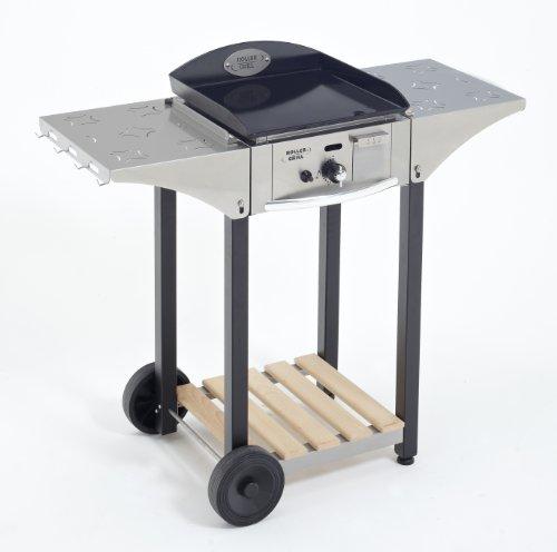 Roller Gril R.CHPS400 Desserte pour Plancha 400 Inox / Bois