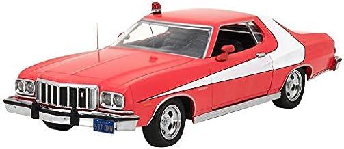 Greenlight Collectibles–Ford Gran Torino–Starsky y Hutch 1976–(Escala 1/24, 84042, Rojo/Blanco)
