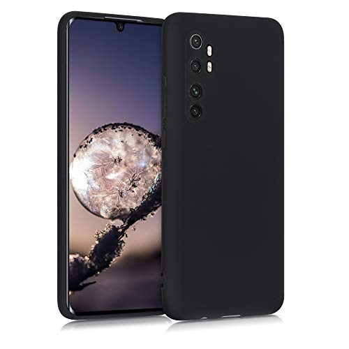 kwmobile Hülle kompatibel mit Xiaomi Mi Note 10 Lite - Hülle Handyhülle - Handy Hülle in Schwarz matt