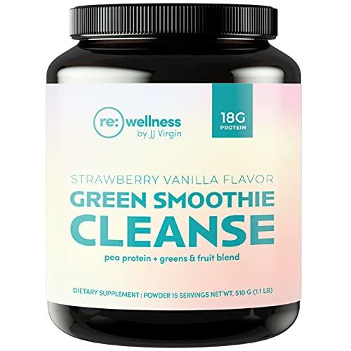 Reignite Wellness Green Smoothie Cleanse - Vegan Protein & Greens...