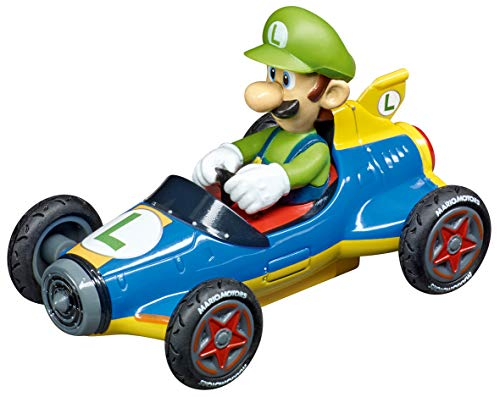 Carrera 64149 Nintendo Mario Kart 8 Mach 8 Luigi GO!!! Analog Slot Car Racing Vehicle 1:43 Scale, (Model: 20064149)