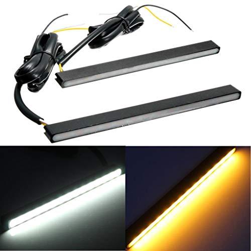 Yongse Universal LED, der Tagfahrlicht DRL Blinker Licht Weiß Bernstein