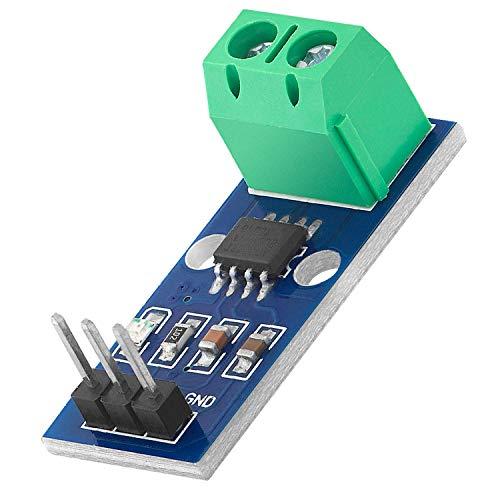 AZDelivery ACS712 30A Ampere Stromsensor Range Modul Current Sensor kompatibel mit Arduino Bascom inklusive E-Book!