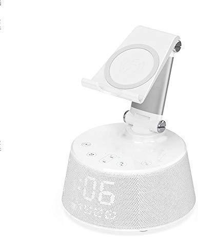 Mirage Alarm Clock Speaker Bluetooth Creativo Pantalla Botón táctil con Wireless Charging...