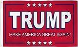 AZ FLAG Flagge Donald Trump PRÄSIDENT USA 2020 ROT 150x90cm - VEREINIGTEN Staaten VON Amerika Fahne 90 x 150 cm - flaggen Top Qualität