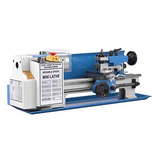 Mophorn 7x14 Metal Lathe 550W Precision Bench Top Mini Metal Milling Lathe...
