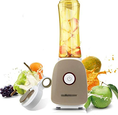Juicer Fried Juice Automatic Smoothie Blender Fruit And Vegetable Multi-Function Mixing Machine 650ml-brown