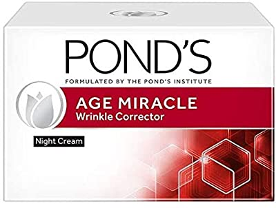 POND's Age Miracle Wrinkle Corrector SPF 18 PA++ Day & Night Cream 50 g (Night Cream) from Ponds