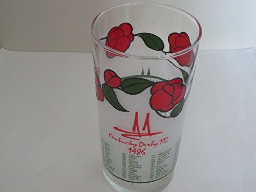 1986 Kentucky Derby Glass