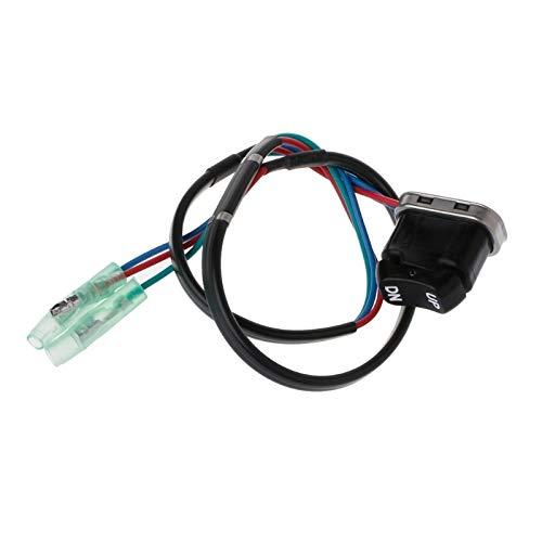 SHENLIJUAN Interruptor Asamblea for Y-a-m-a-h-a Motor Fuera de borda Controlador Remoto 703-82563-02-00