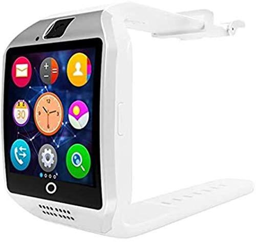Actividades TF Ranura de Tarjeta Inteligente SIM Bluetooth Cámara rastreador de Ejercicios Deportivos Hombres y Mujeres Buscan Q18 Blanc,P18-Blanc