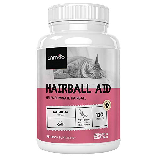Anti Bolas de Pelo de Gatos 120 Comprimidos | para una Digestión Saludable y Evitar Bolas de Pelo