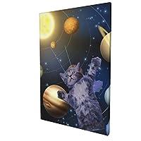 アートフレーム ポスター 壁 落書き A3 カラフルな音楽の背景を アートパネル アート モダン 壁掛けアート アートボード インテリア 絵 絵画 部屋飾り 壁掛け 玄関 木枠セット 30X45CM