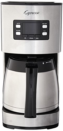 Capresso 435.05 10 Cup Thermal Coffee Maker ST300