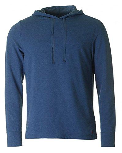 Ralph Lauren Sweater Pullover LS Hoodie Derby Blue Heather blau 252 UHDLS CLWFL A475C HW16-1 Größe XL